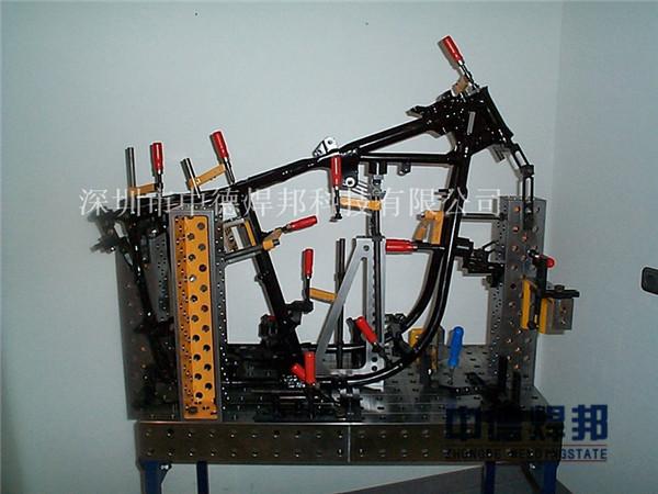 摩托车架焊接工装夹具的设计